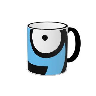 Blue Smiley Mug
