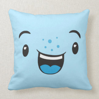 Kawaii Faces Pillows - Decorative & Throw Pillows Zazzle