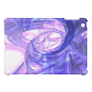 Blue Smoke Abstract  iPad Mini Cases