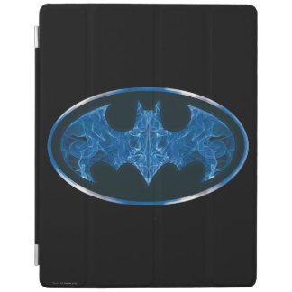 Blue Smoke Bat Symbol iPad Smart Cover