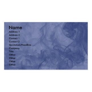 BLUE SMOKE BUSINESS CARDS