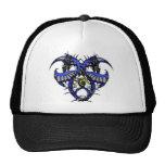 Blue Smoke Dragonheart Hat
