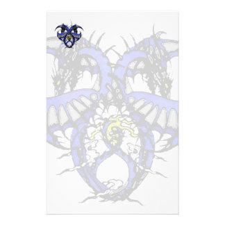 Blue Smoke Dragonheart Stationery