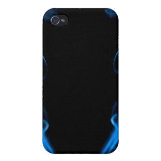 Blue Smoke iPhone 4 Covers
