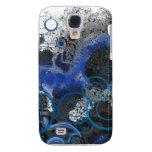 Blue Smoke Samsung Galaxy S4 Cases