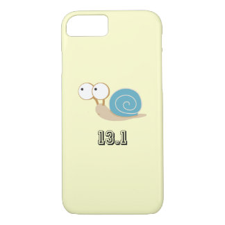 Blue Snail 13.1 (half marathon) iPhone 8/7 Case