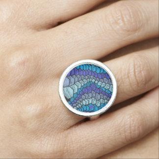 blue snake 2 rings