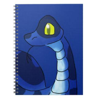 Blue Snake Notebook