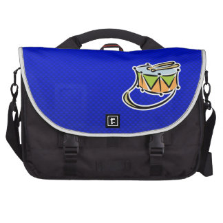Blue Snare Drum Laptop Computer Bag