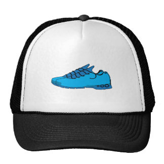 Blue Sneakers Mesh Hats