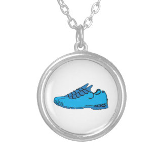 Blue Sneakers Necklaces