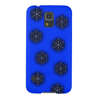 Blue Snow Fall Samsung Galaxy S5 case