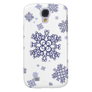 Blue Snow Galaxy S4 Cover