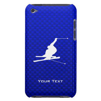 Blue Snow Skiing iPod Touch Cover