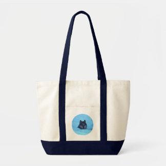 Blue Snow Timber Wolf Bag