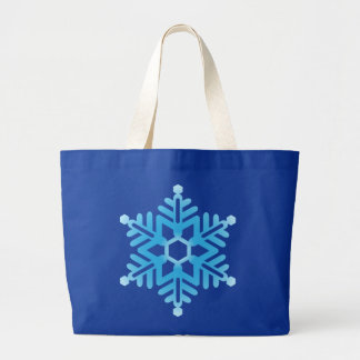 Blue Snowflake Bags