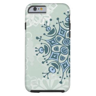 Blue Snowflake iPhone 6 Case