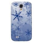 Blue Snowflake HTC Vivid Cases