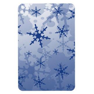Blue Snowflake Magnet
