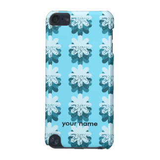 Blue Snowflake Pattern iPod Touch 5G Case