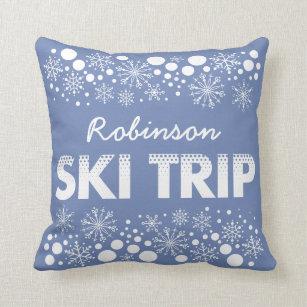 Snowflakes Pillows Decorative Amp Throw Pillows Zazzle