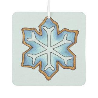 Blue Snowflake Winter Hanukkah Christmas Holiday Air Freshener