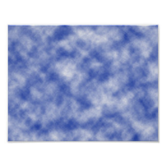 Blue Snowy Background Posters