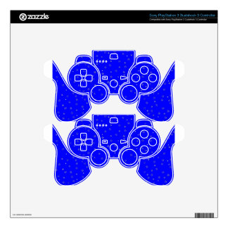 Blue Snowy Sky PS3 Controller Skins