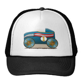 Blue Soap Box Car Hats