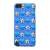 Blue Soccer Ball iPod 5 Case