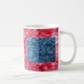 Blue Soft and Fuzzy Classic White Coffee Mug