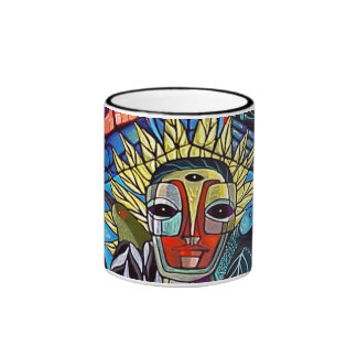 Blue Soul Rising by Gregory Gallo Coffee Mugs