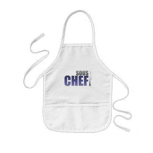 Blue Sous Chef Aprons