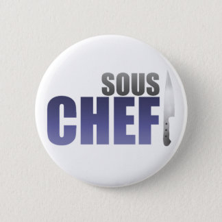 Blue Sous Chef Button