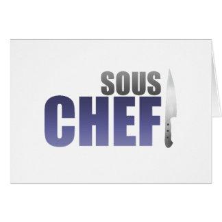 Blue Sous Chef Card