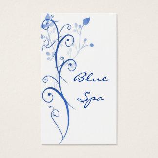 Blue Spa Business Card