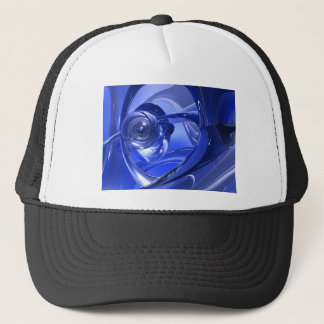 Blue Space Corners Trucker Hat
