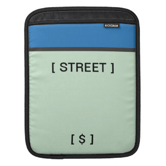Blue Space iPad Sleeve