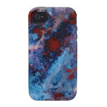 Blue Space iPhone 4/4S Covers