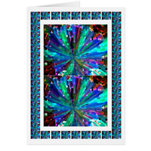 BLUE Sparkle Collection Greeting Card