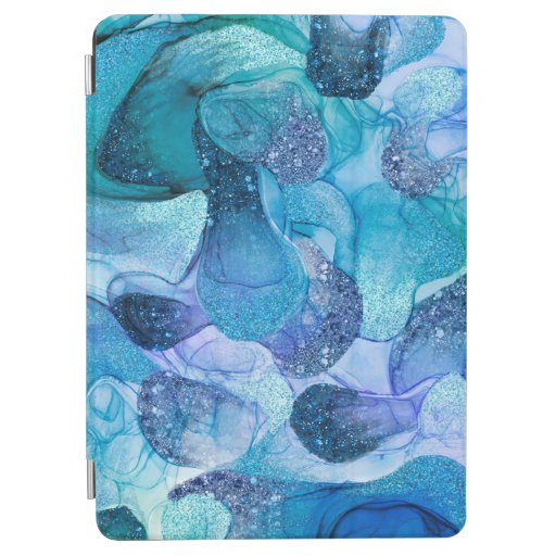 Blue sparkle dream iPad air cover