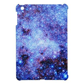 Blue Sparkle Stars iPad Mini Cover