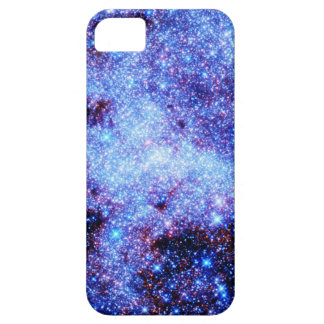 Blue Sparkle Stars iPhone SE/5/5s Case