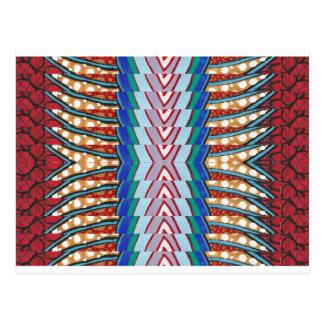 BLUE Sparkle Strip FASHION DIVA -lowprice STORE Postcard