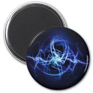 Blue sparks magnet