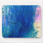 Blue Sparks Mouse Pad