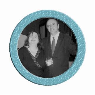 blue speckel frame photo cutout