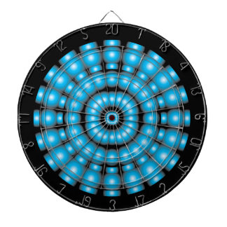 Blue Spheres Dartboard