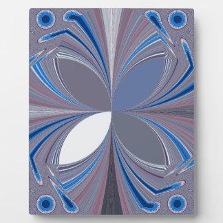 Blue spider plaque