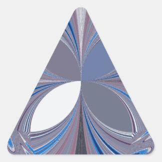 Blue spider triangle sticker